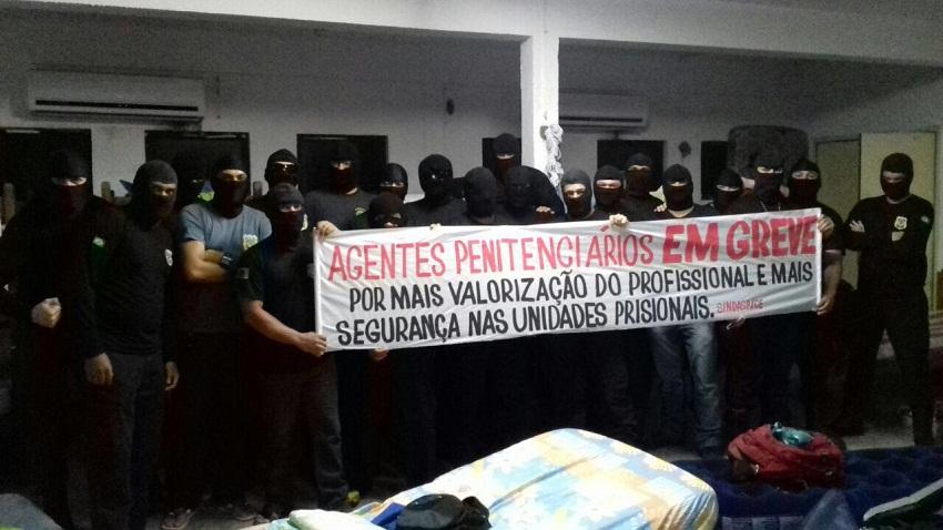 Para o diretor do Sindasp-CE, Luis Carlos de Sousa, a maioria das 139 cadeias do Ceará está em situação precária (FOTO: Reprodução Whatsapp)