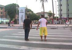 Avenida Bezerra de Menezes sofreu duas intervenções (FOTO: Reprodução TV Jangadeiro)