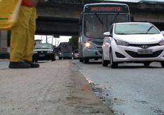 Semáforo foi instalado para melhorar o trânsito no local (FOTO: Reprodução TV Jangadeiro)
