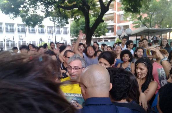 O caso aconteceu no dia 9 de maio no Campus Benfica na Universidade Federal do Ceará (FOTO: Reprodução/Instagram)