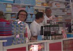 Crise afeta o comércio nesse feriado (FOTO: Reprodução TV Jangadeiro)