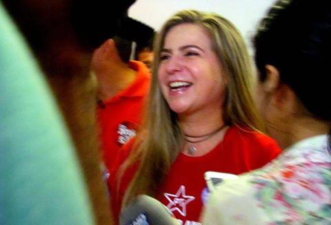 Deputada federal Luizianne Lins será a pré-candidata do partido nas eleições municipais (FOTO: Reprodução/Facebook)