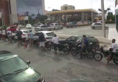 4 mil litros de gasolina foram vendidos sem tributos (FOTO: Reprodução TV Jangadeiro)