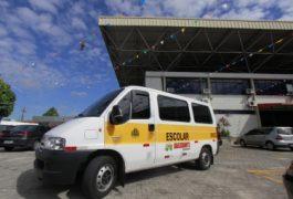 Cerca de 1,3 mil transportes escolares circulam em Fortaleza (FOTO: Divulgação/Prefeitura de Fortaleza)