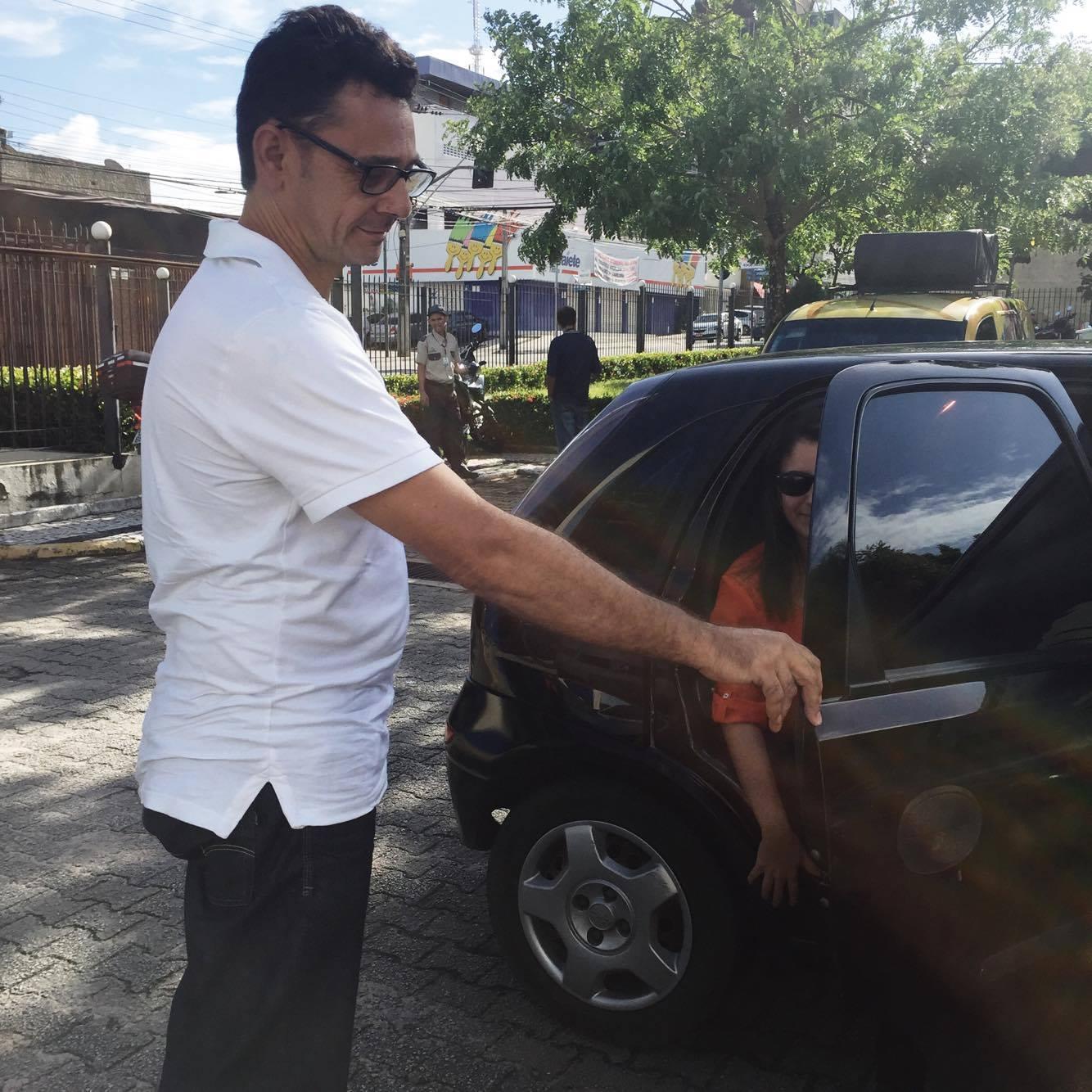 Uber chegou a Fortaleza em 30 de abril e gera polêmica (FOTO: Tribuna do Ceará)