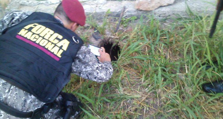 Agente penitenciários informa que houve pelo menos 10 fugitivos, Sejus confirma apenas 2. (FOTO: reprodução/ whatsapp)