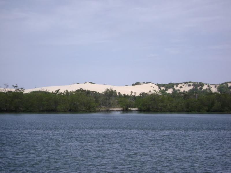 Rio Jaguaribe está bastante poluído (FOTO: Reprodução)