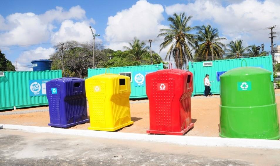 Ecoponto Bairro de Fátima (FOTO: Divulgação)