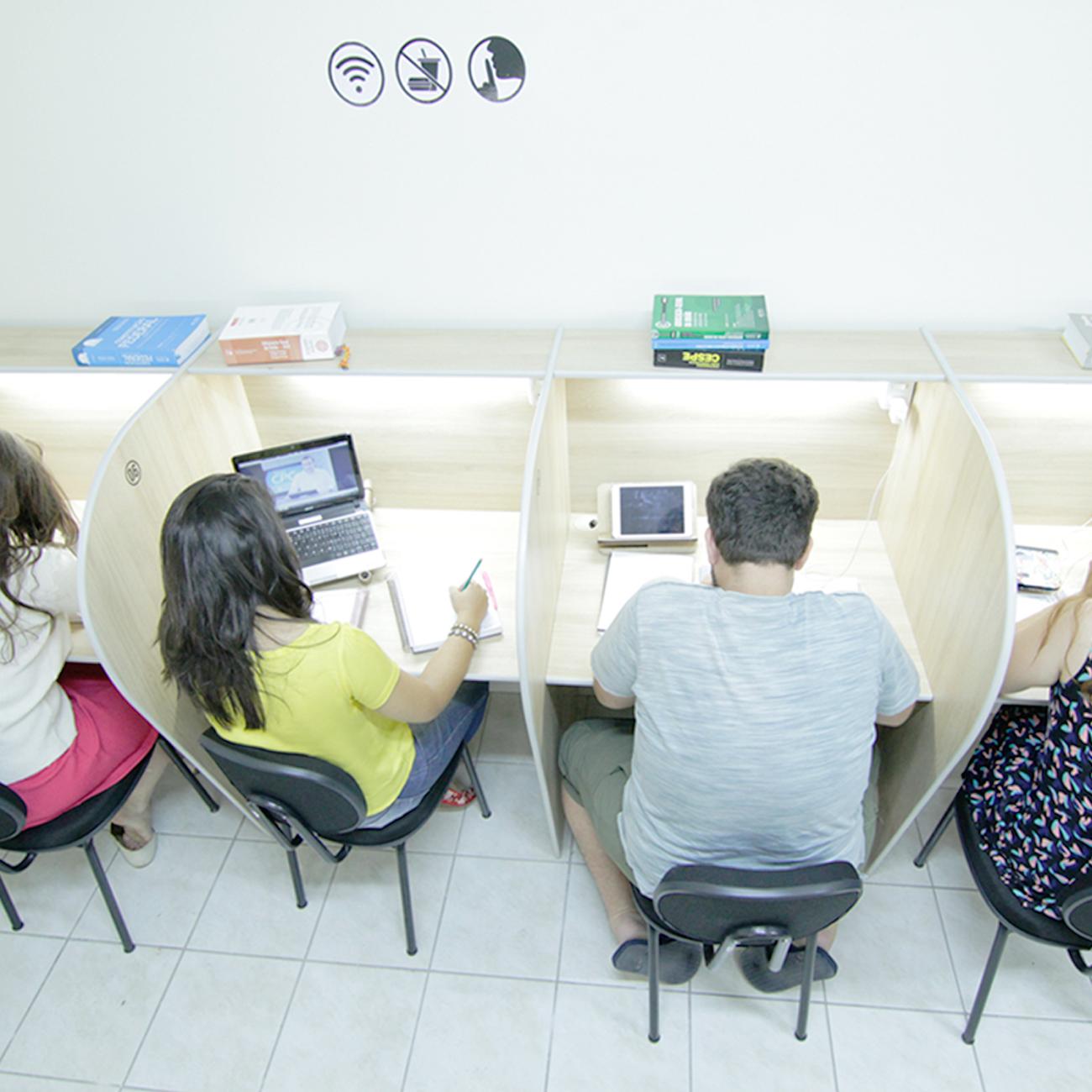 Salas de estudos estão sendo cada vez mais procuradas no Ceará (FOTO: Divulgação)