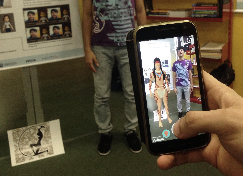 Holograma em 3D pode ser visto através de dispositivos móveis (FOTO: Divulgação)