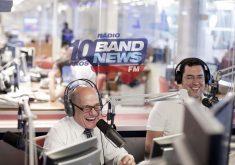 Boechat (esquerda) é âncora diário da Rádio BandNews FM (FOTO: Reprodução)