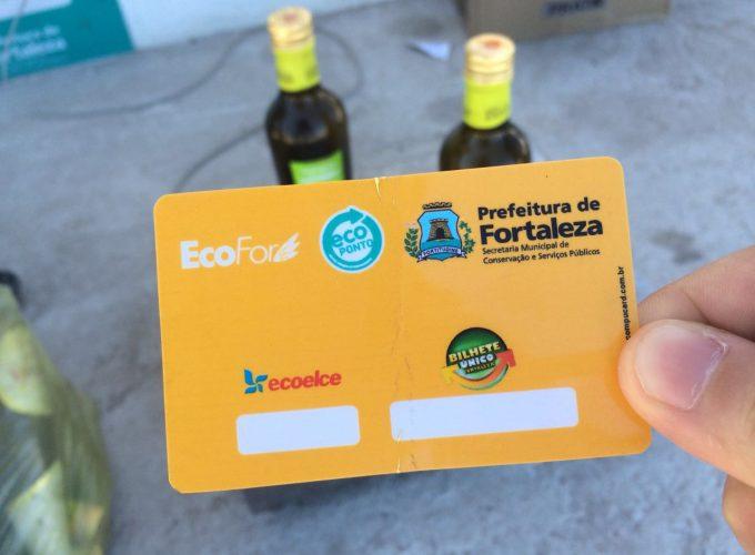 Cartão é utilizado para troca de bônus (FOTO: Matheus Ribeiro / Tribuna do Ceará)