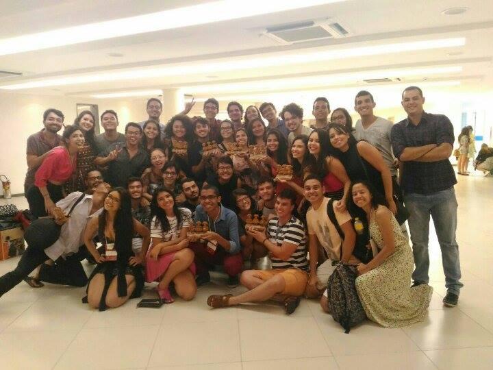 Pelo menos 60 estudantes ganharam a premiações no Intercom Nordeste (FOTO: Reprodução)