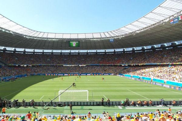 Fortaleza foi palco de seis jogos da Copa do Mundo 2014 (Foto: divulgação)