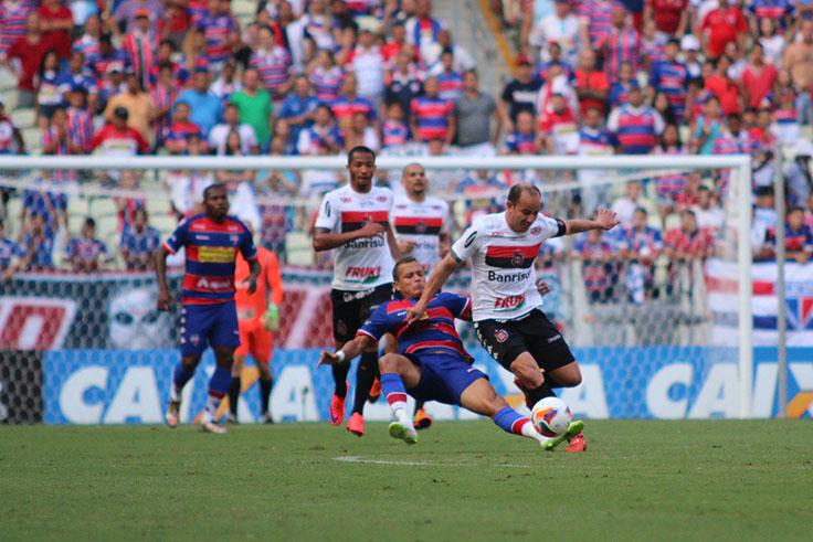 O Brasil-RS superou o Fortaleza na fase quartas de final da Série C. O Leão não conseguiu o acesso à Série B (Foto: Carlos Insaurriaga)