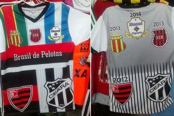 A camisa ganhou mais um escudo este ano: Brasil de Pelotas (Foto: Verminosos por Futebol)