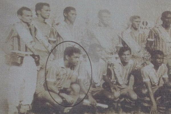 Garrincha vestiu as cores do Leão em 1968 (Foto: Reprodução/Nordestv)