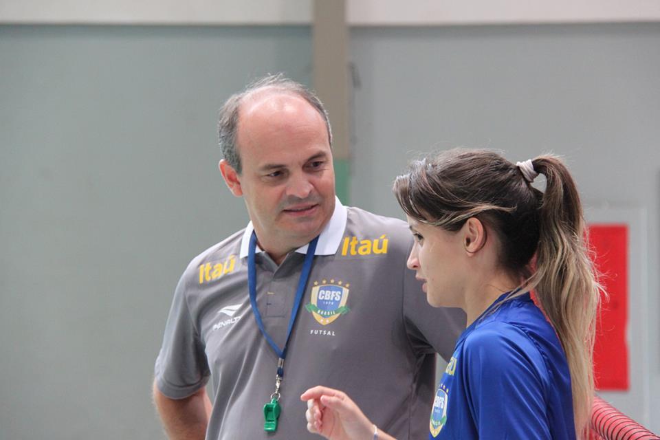 Wilson Saboia e Amandinha tentarão conquistar o hexa para o Brasil (FOTO: Naiara Gresta/CBFS)