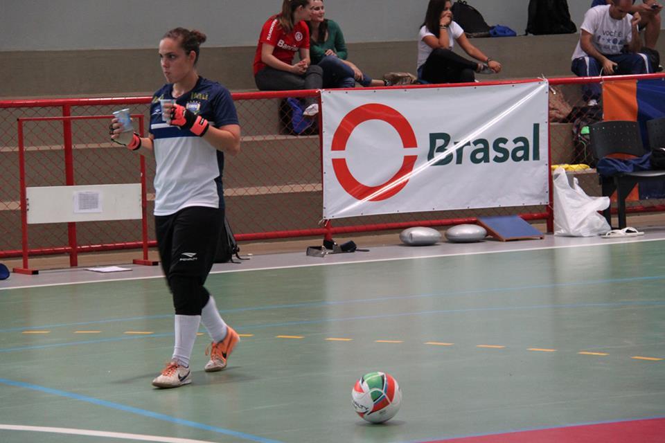 Missi Papst é a goleira titular também da seleção brasileira (FOTO: Naiara Gresta/CBFS)