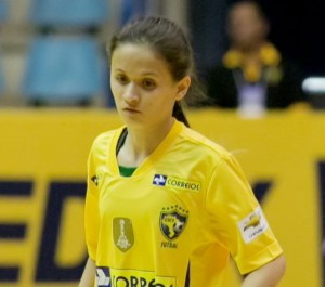 Amandinha é a atual melhor jogadora do mundo (FOTO: Divulgação/CBFS)