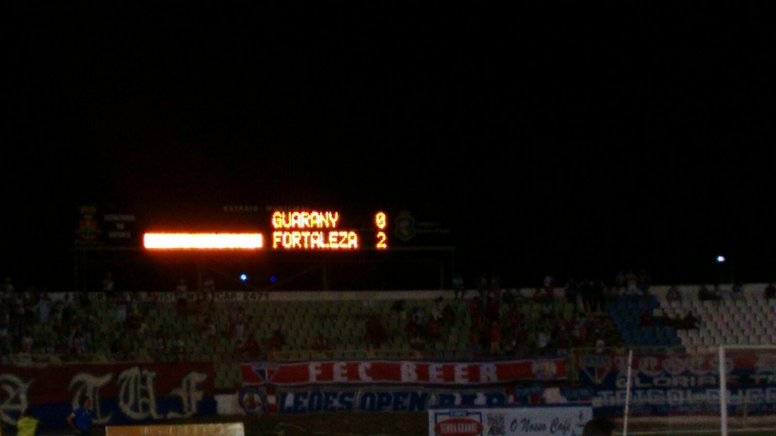 O Fortaleza fez cinco gols na soma das duas vitórias (Foto: Walber Freitas)