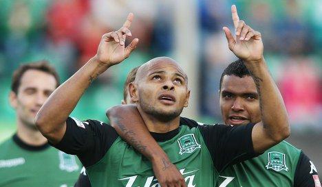 Ari e Wanderson fazem parte do Krasnodar, equipe fundada em 2007 (Foto: Divulgação)