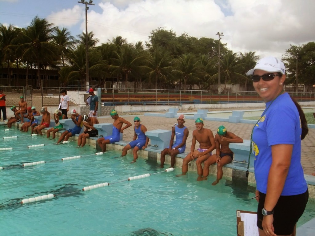 Tércia Figueiredo já foi técnica de triathlon (Foto: Divulgação)