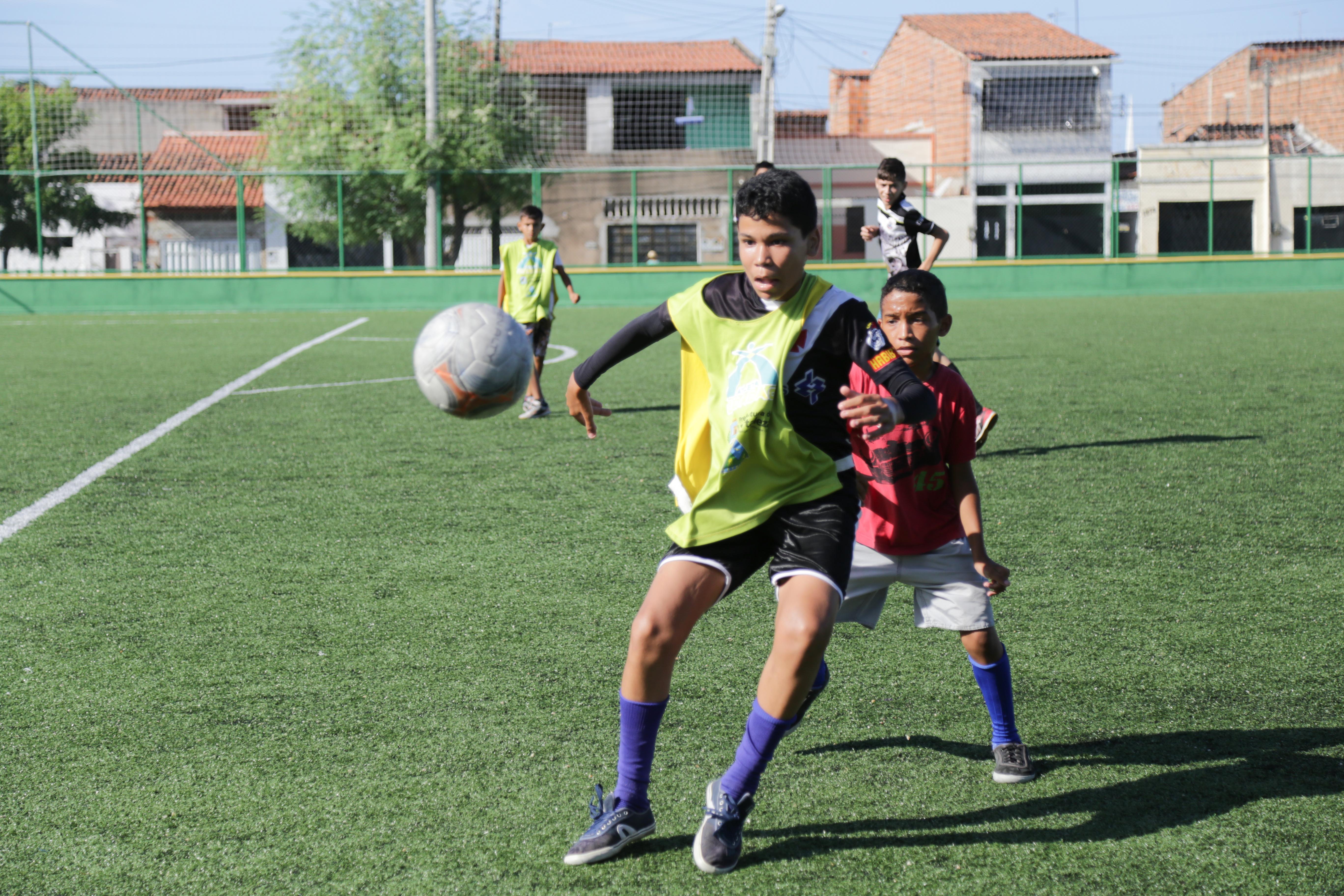 A Areninha Conjunto Ceará é o novo equipamento esportivo entregue (FOTO: Thiago Gaspar)
