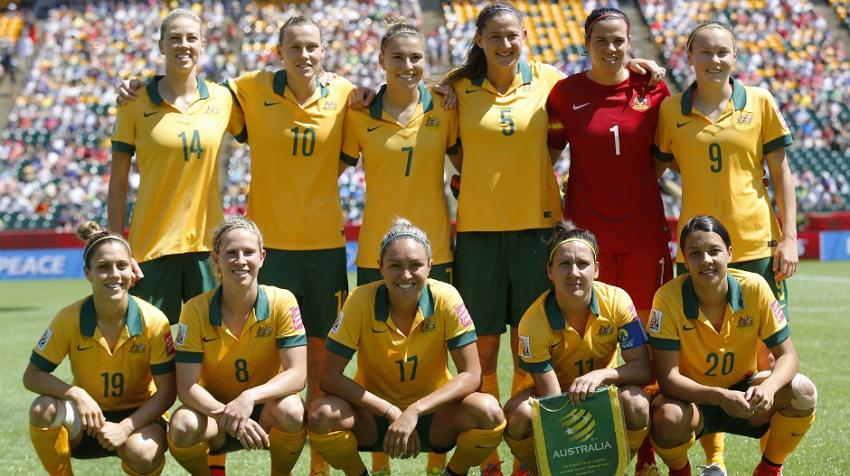 A seleção da Austrália ocupa o 5º lugar no ranking da Fifa (FOTO: Divulgação)