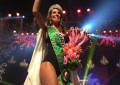 Arianne Miranda, representante do município de Horizonte, foi eleita, na noite desta quinta-feira (30), a nova embaixadora da beleza cearense. (FOTO: Tribuna do Ceará/Juliana Teófilo)