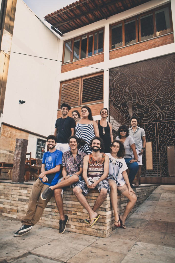 O projeto funciona a partir de quatro eixos: intercâmbio cultural, formação, produção de bandas locais e eventos (FOTO: Reprodução/Igor de Melo - Projeto Vós)