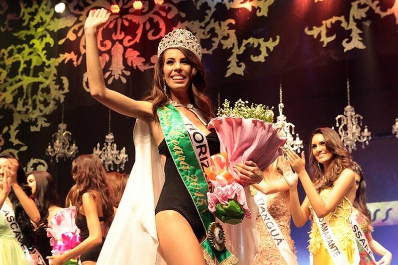 Se eleita Miss Brasil, a cearense Arianne Miranda será a 4ª do estado a receber o título na história (FOTO: Reprodução)