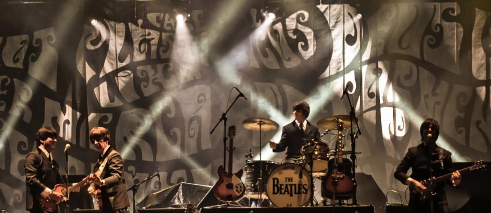 A banda paulista Abbey Road foi considerada na Inglaterra como a melhor banda cover dos Beatles por três anos consecutivos (FOTO: Reprodução/Site Oficial Abbey Road)