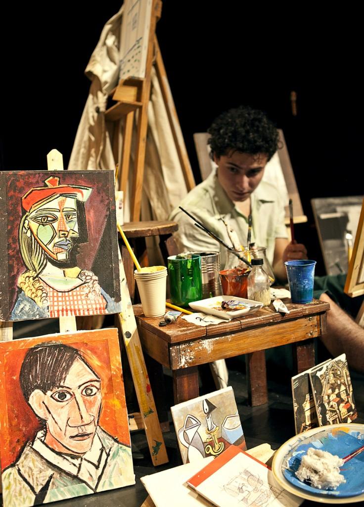 """A peça infantil """"O Menino que Mordeu Picasso"""" fica em cartaz nos dias 21 e 22 de novembro no Teatro Sesc (FOTO: Divulgação)"""