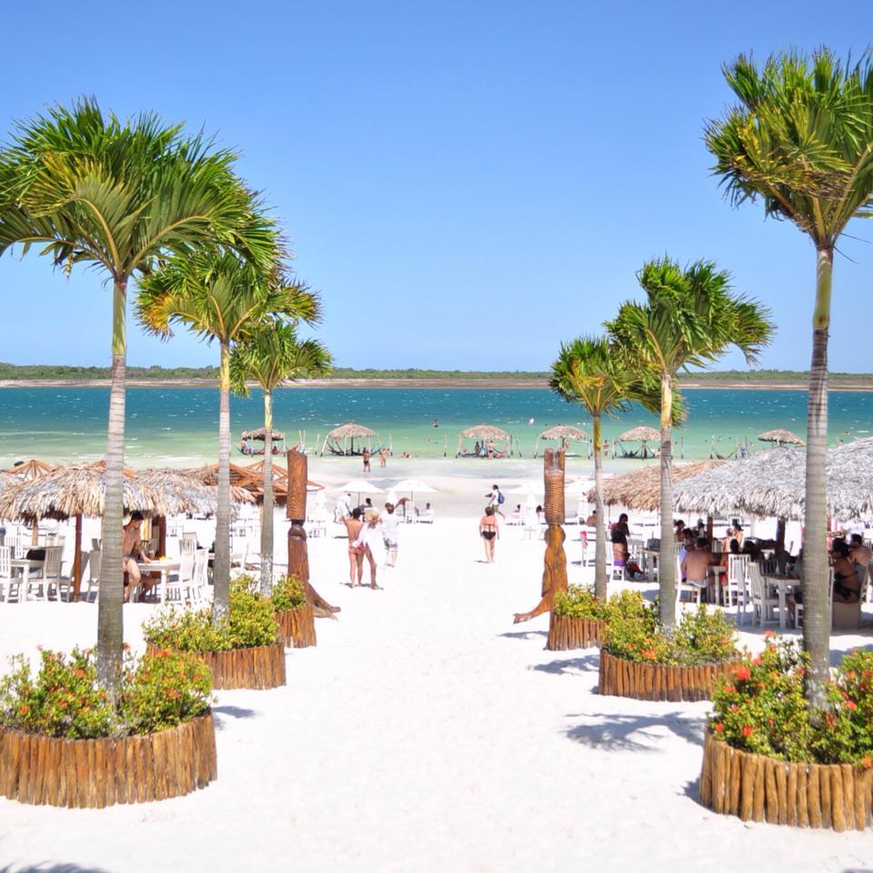 Além da praia de Jeri, a Lagoa do Paraíso é um dos atrativos da região. (FOTO: Gustavo Spíndola)