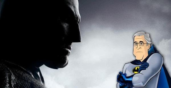 O dublador Márcio Seixas, oficial de Batman, estará presente no evento (FOTO: Reprodução)