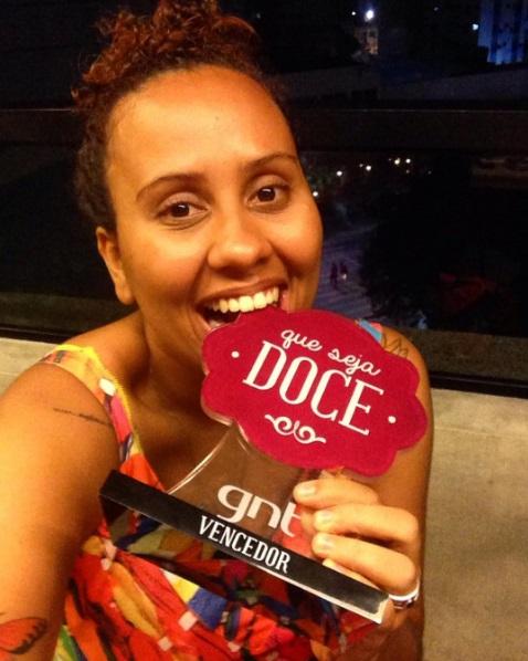 Cearense Marina Araújo trabalha há dois anos com confeitaria em Fortaleza (FOTO: Arquivo Pessoal)