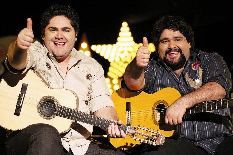 Cesar Menotti e Fabiano devem se apresentar no dia dos namorados (FOTO: Divulgação)