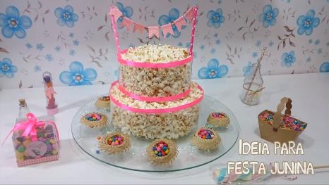 O bolo é uma opção prática e barata. (Foto: Reprodução)