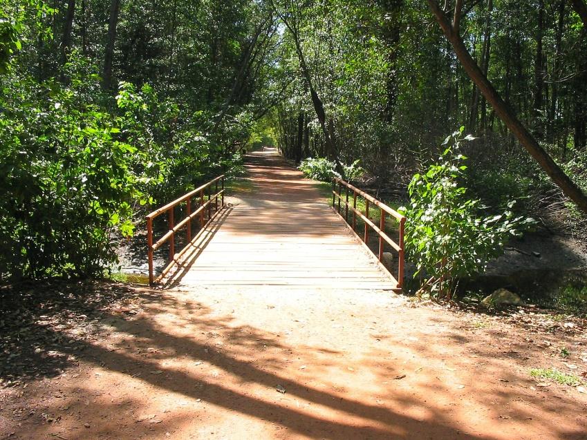 São mais de dois quilômetros de trilhas divididas em três trechos: o principal, o da lagoa e o do rio. (FOTO: Reprodução)