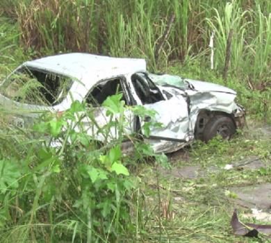 Motorista sem habilitação fura blitz e causa três mortes(FOTO: Reprodução TV Jangadeiro)