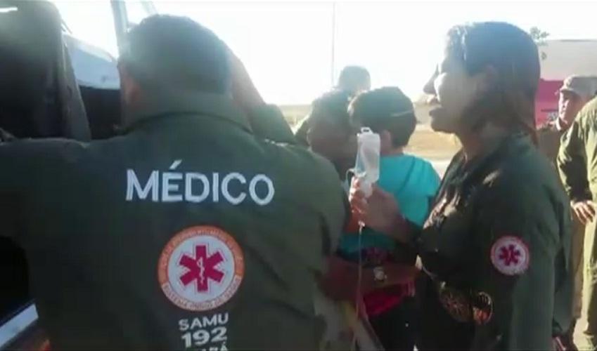 Garoto é picado por cobra (FOTO: Reprodução TV Jangadeiro)