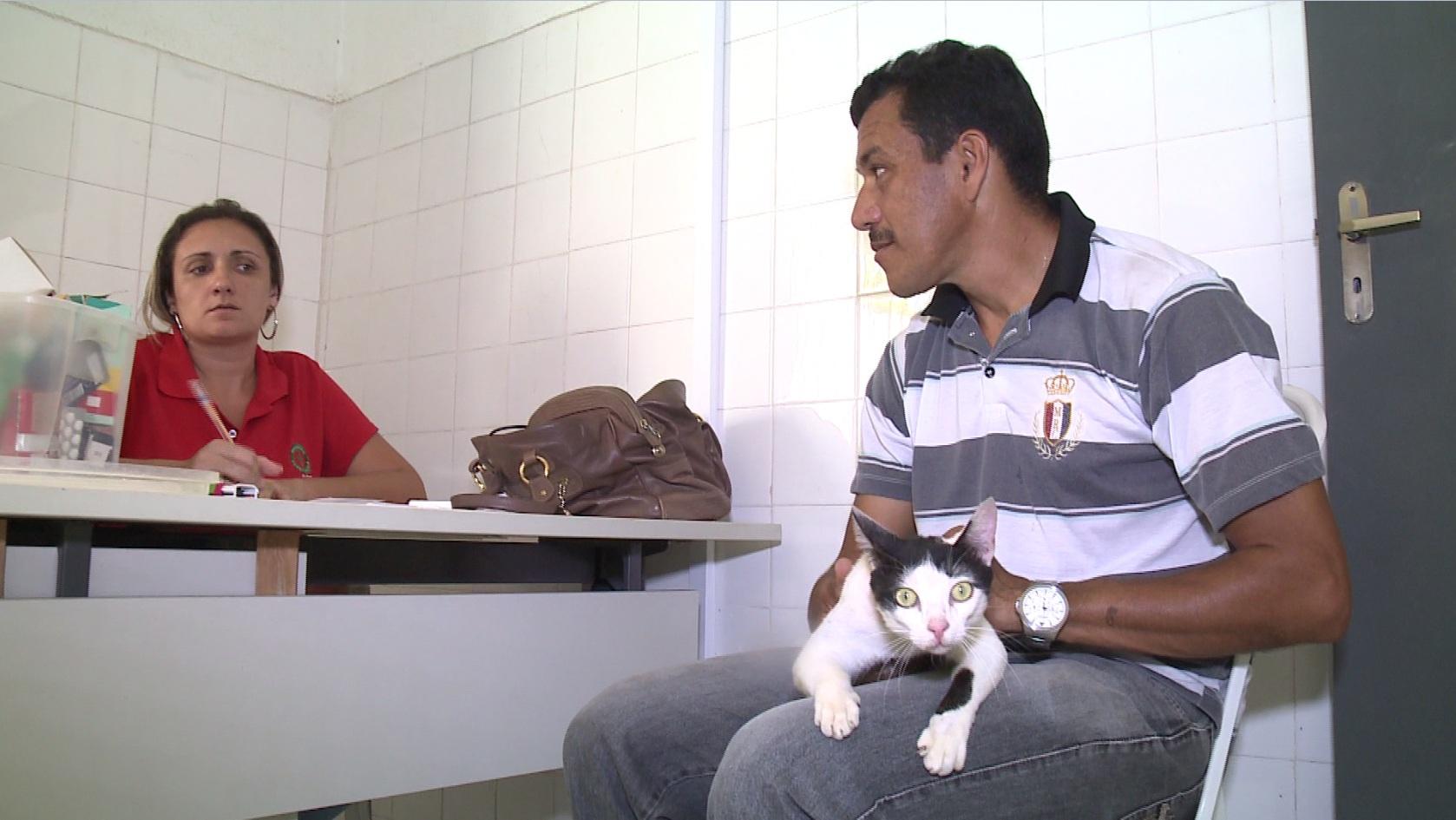 Animais têm direito a atendimento clínico e vacinas. (FOTO: reprodução/ TV Jangadeiro)
