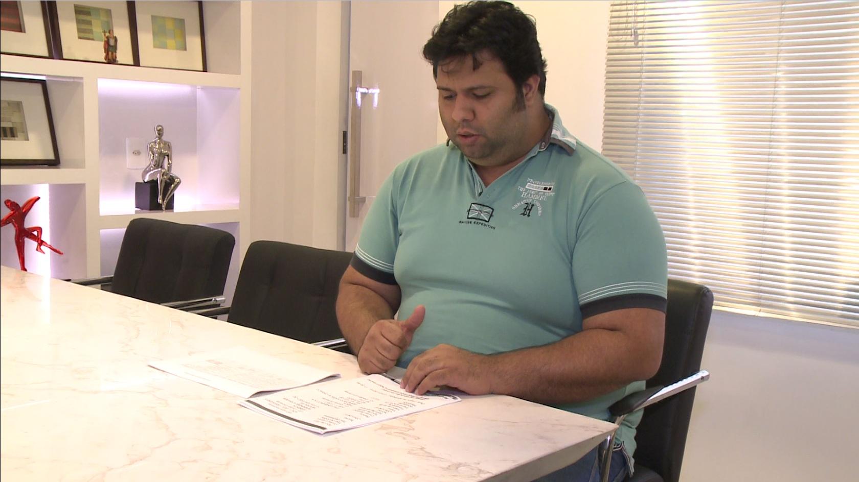 Várias pessoas o acusam de vender imóveis sem autorização dos donos. (FOTO: reprodução/ TV Jangadeiro)